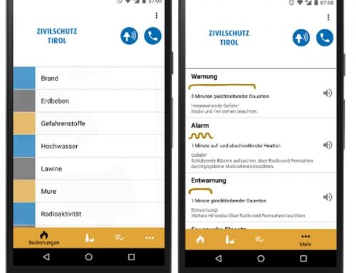 Zivilschutz App