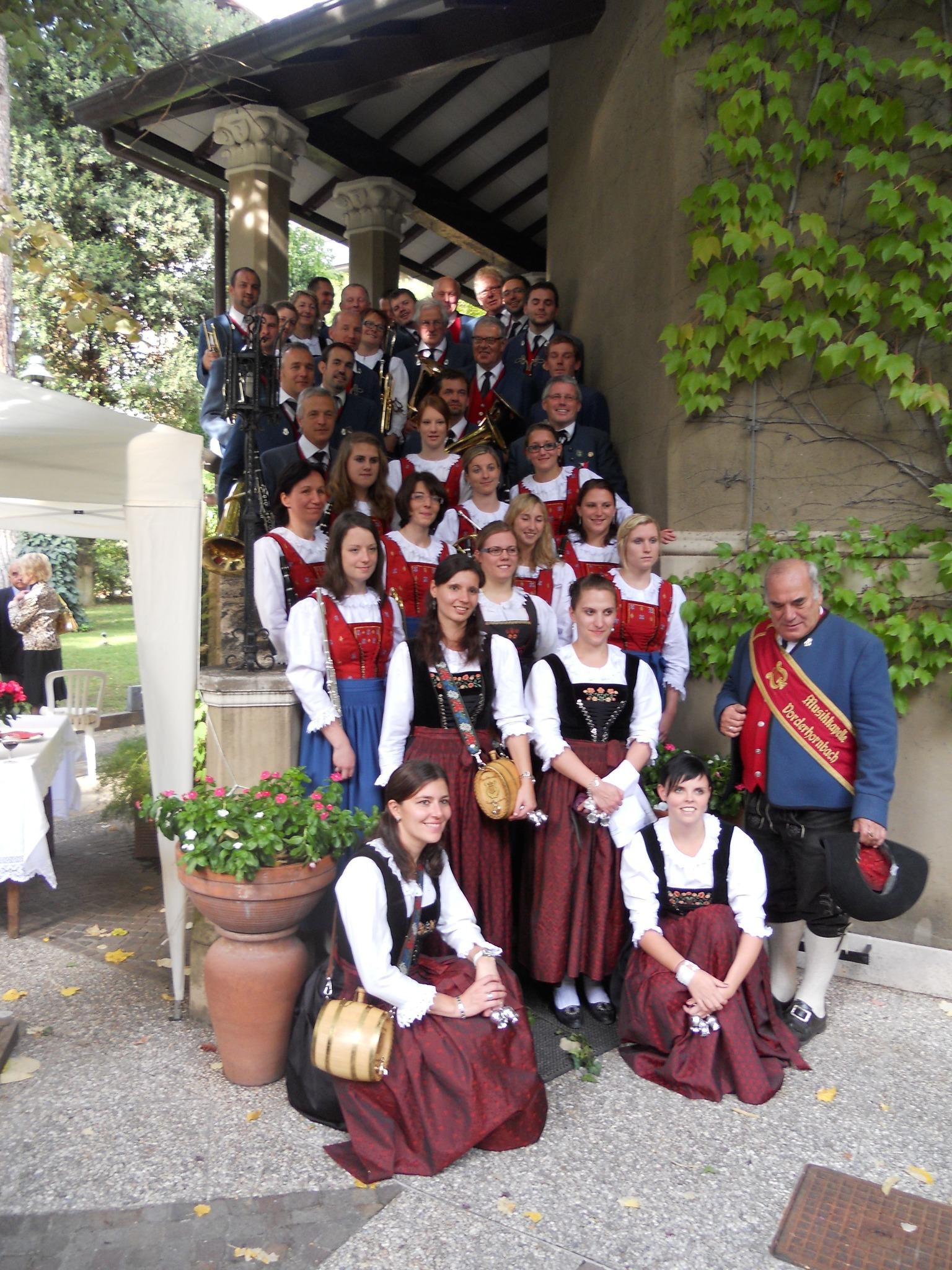 Musikkapelle Vorderhornbach Gruppenbild
